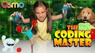 Jillian the CODING MASTER!!! New OSMO CODING Interactive Game!