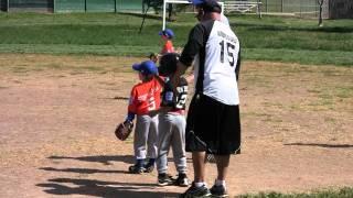 2011-04-16 FNLL Giants - Aaron batting 2