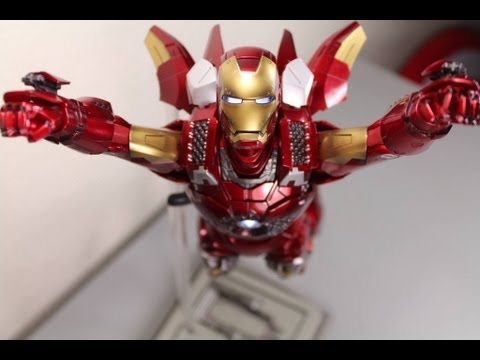 The Avengers Hot Toys Mark VII Iron Man Movie Masterpiece 1 6 Scale Collectible Figure Review
