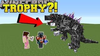Minecraft: MASSIVE TROPHIES!! (TROPHIES BIGGER THAN YOU!) Mod Showcase