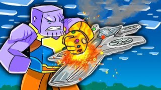Infinity War Movie - DESTROYING THE AVENGERS SHIP! (Minecraft Avengers Roleplay)