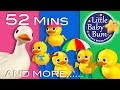 Download Video Download Five Little Ducks | Part 2 | Plus Lots More Nursery Rhymes | 52 Mins Compilation from LittleBabyBum! 3GP MP4 FLV