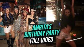 Amrita Arora WILD 2018 Birthday Party FULL VIDEO | Kareena Kapoor, Malaika Arora, Saif Ali Khan