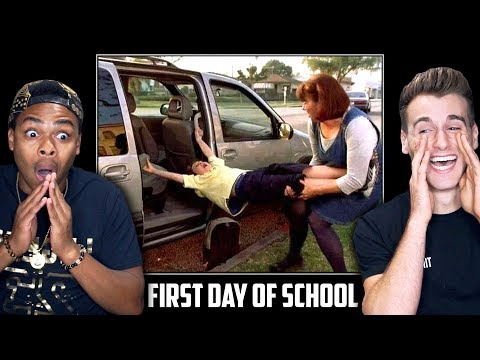 HILARIOUS FIRST DAY BACK TO SCHOOL Funniest Reactions