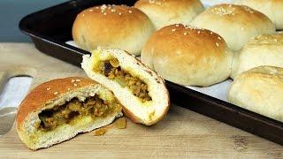Vegan Curry Beef Bun Recipe | Mary