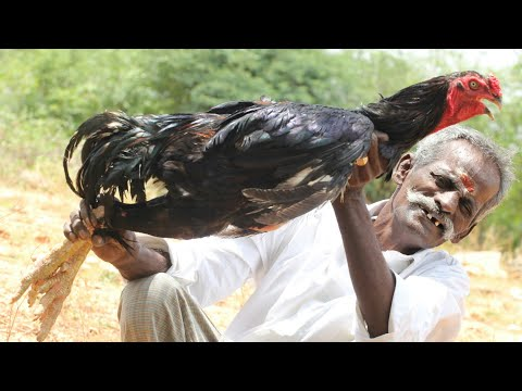 KING  ROOSTER Prepared by my DADDY / Village Food Factory / Inside SUBTITLE