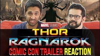 Thor Ragnarok - Comic Con 2017 Trailer Reaction