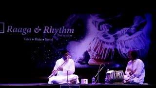 Flute recital by Ustad Bari Siddiqui, on tabla Ashoke Paul -part 1