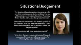 Situational Judgement Tests (SJT) Interview Techniques & Training | Executive Coaching Tools