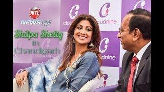 Shilpa Shetty Kundra Inagurates a Hospital in Chandigarh