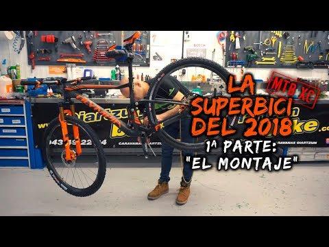 Montaje de la SUPERBICI del 2018, una bicicleta MTB XC doble con lo mejor de lo mejor