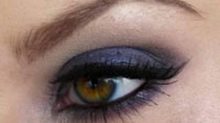 Deep Sexy Blue Smokey Eyes