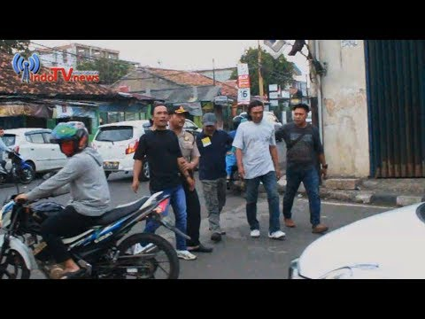 Tim Reskrim Polsek Karawaci Menjaring 8 Preman Jalanan
