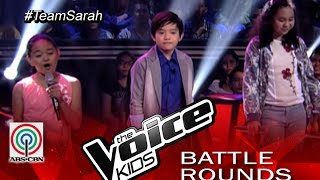 """The Voice Kids Philippines 2015 Battle Performance: """"Pyramid"""" Gift vs Francis vs Terese"""