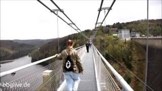 Die längste Seilhängebrücke der Welt im Harz eröffnet