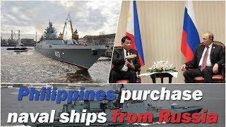 Philippines considers possibility to purchase naval ships from Russia