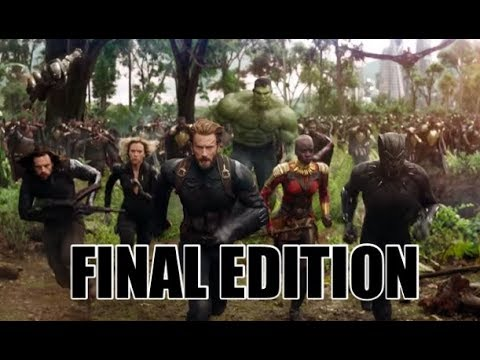 MARVEL CINEMATIC UNIVERSE IN CHRONOLOGICAL ORDER FINAL EDITION