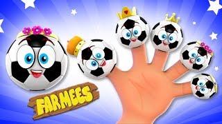 Soccer Finger Family | Kindergarten Nursery Rhymes For Kids