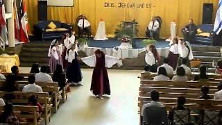 la gloria postrera (medley2) por, DANZA MESIANICA SHALOM