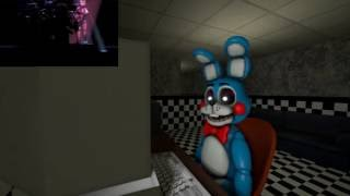 [SFM FNAF] FNAF Sister Location Trailer: Toy Bonnie's Reaction
