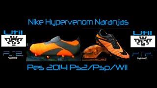 Nike Hypervenom Naranjas Pes 2014 Ps2/Psp/Wii