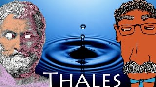 THALES and WATER - History of Philosophy with Prof. Footy
