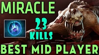 Dota 2 Miracle [Lifestealer] Best Mid Player - 23 Kills with Linken