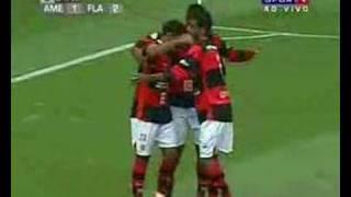 Flamengo 4 x 2 America (Mex) - Libertadores 2008