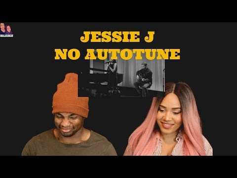 Jessie J | REAL VOICE (WITHOUT AUTO-TUNE) REACTION