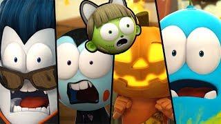 Funny Animated Cartoon | Spookiz | 💀👻  Halloween Surprise 👻💀| 스푸키즈 | Cartoon For Children