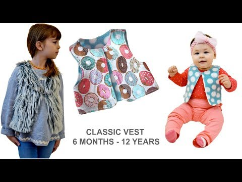 Xxx Mp4 HOW TO SEW A CLASSIC VEST TODDLER TEEN PRE TEEN COOL SHAGGY VEST 3gp Sex