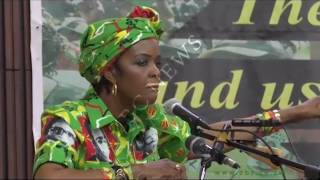 Grace Mugabe speaks on chosing President's replacement