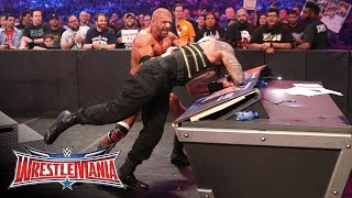Roman Reigns vs. Triple H - WWE World Heavyweight Title Match: WrestleMania 32 on WWE Network