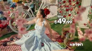 Yeni Koton Fahriye Evcen Reklamı-Şimdi Moda Nakışlı