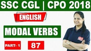 SSC CGL-CPO - 2018 || MODAL VERBS
