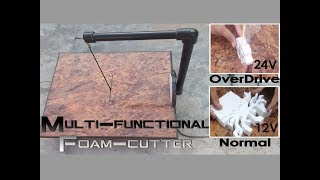 How to Make a Styro-Slicer || Easy and Multi-functional StyroFoam Cutter