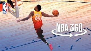NBA 360   Donovan Mitchell Wins 2018 Verizon Slam Dunk