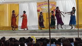 Tor pirit ke dhun ma re school dance in village