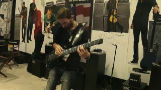 Giorgio Terenziani NAMM Show 2K17 // Gallien - Krueger Booth // Melodic Tapping