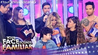 Your Face Sounds Familiar: 1st Placer & Grand Winner Announcement