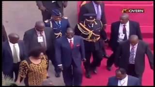 Mugabe stumbles again latest