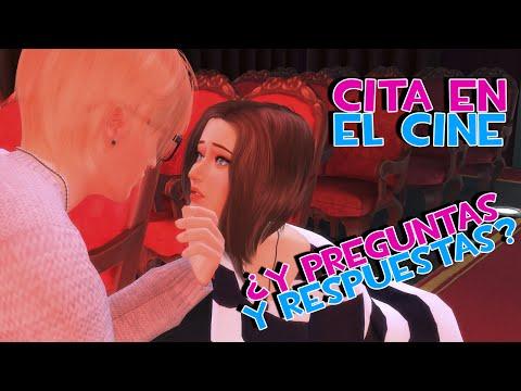 CITA EN EL CINE Y ¿PREGUNTAS Y RESPUESTAS Sims 4 Noche de Cine ep. 18 NatsukiSelresponde
