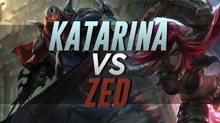 RANKED |  KATARINA MID VS ZED | ROAD TO DIAMOND (PLATINO III 80 lp)