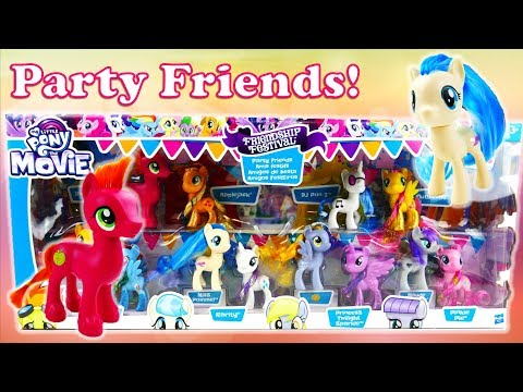 Xxx Mp4 My Little Pony The Movie Toys Friendship Festival Party Friends Collection Pack Toy Review 3gp Sex