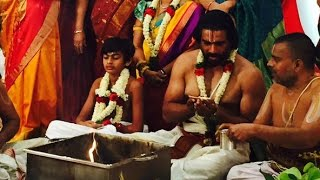 Madhavan son Vedanth upanayanam function held in Chennai | Hot Cinema Ne