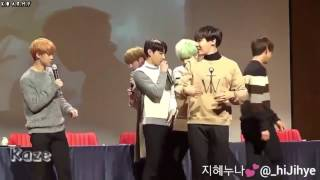 [Thaisub] 160103 BTS Jimin and Jin tease a noona fan @ Bundang Fansign by @ hiJihye