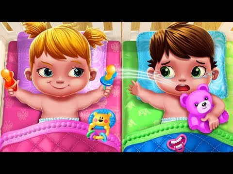 Fun Care Kids Game Baby Twins Babysitter Play Dress Up Care Games For Kids