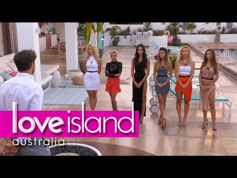 One girl is dumped at the recoupling Love Island Australia 2018