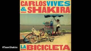 Shakira & Carlos Vives - La bicicleta (Audio HQ) #TeamShakira