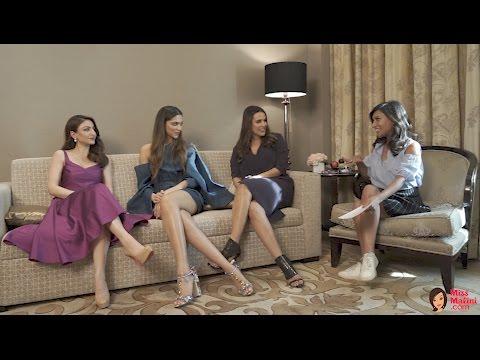 Xxx Mp4 Deepika Padukone Neha Dhupia Soha Ali Khan Breeze By Gilette MissMalini 3gp Sex